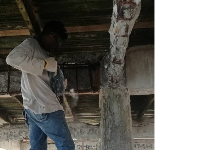 Concrete Repair at Jetty (1)
