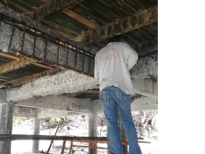 Concrete Repair at Jetty (2)