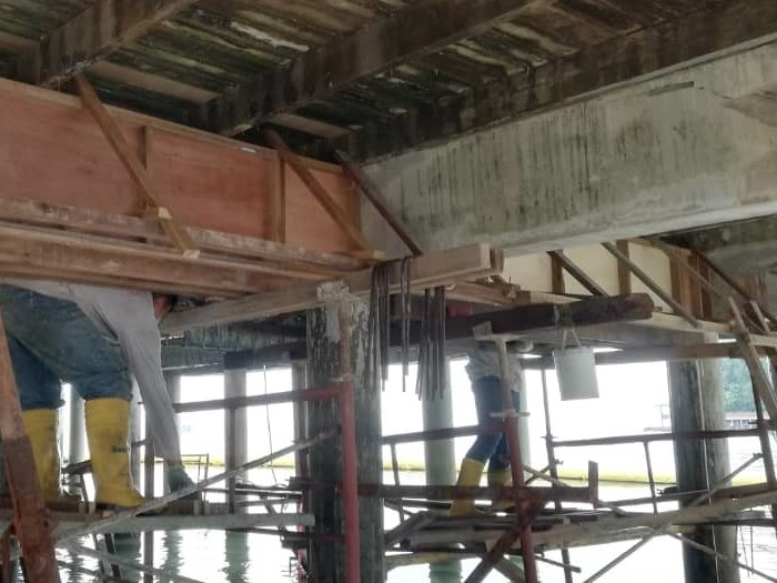 Concrete Repair at Jetty (5)