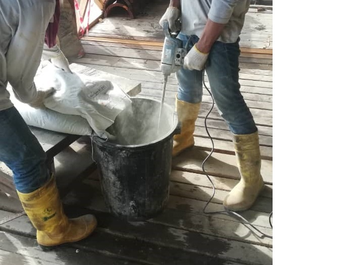 Concrete Repair at Jetty (6)