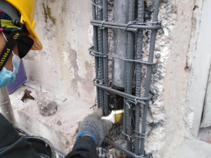 Concrete Repair to Column (3)