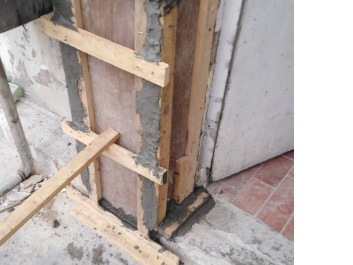 Concrete Repair to Column (4)