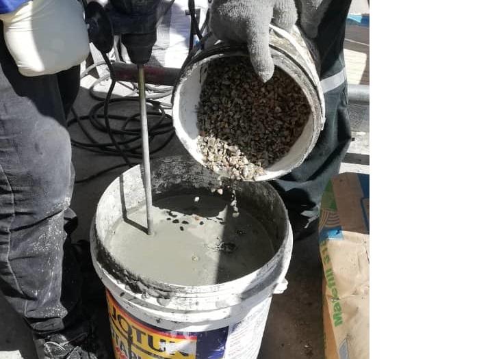 Concrete Repair to Column (5)