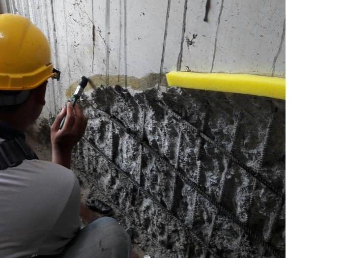 Concrete Repair to Honeycomb (1)