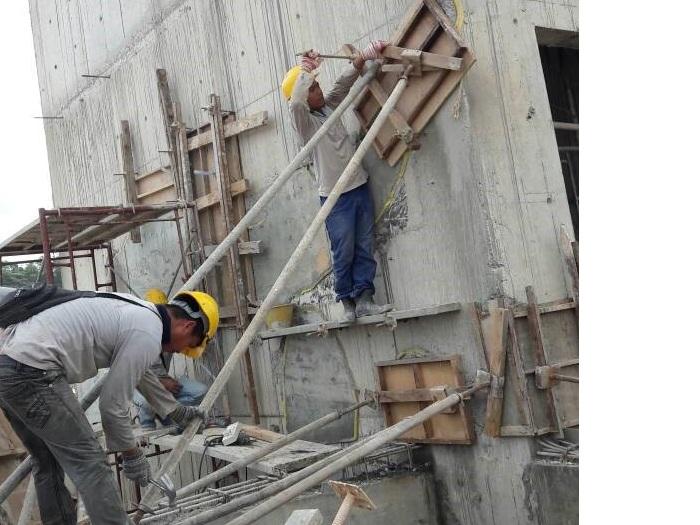 Concrete Repair to Honeycomb (2)