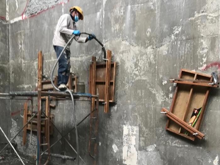 Concrete Repair to Honeycomb (4)