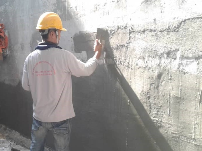 Concrete Repair to Honeycomb (5)