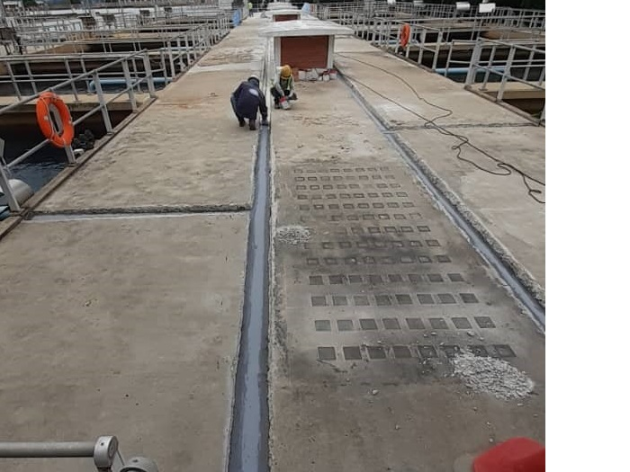 Expansion Joint Using Combiflex System (4)